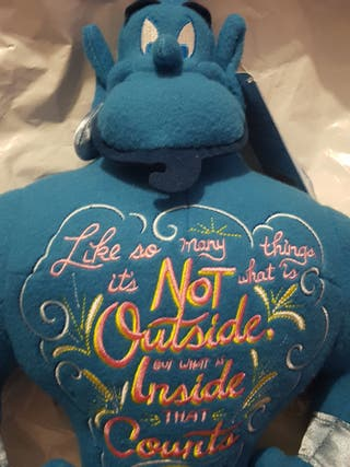 Genie Limited Edition Disney Brand New Plush Toy