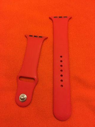 Correa Apple Watch roja