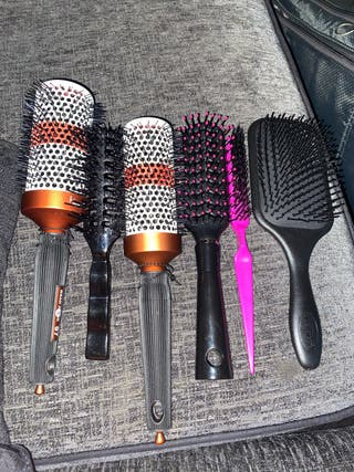 Hairdressing brush set