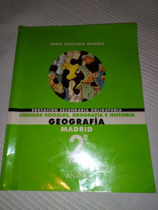 libro ESO Ciencias Sociales Geografía e Historia