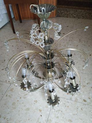Lámpara antigua de colección