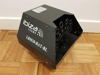 NUEVO - Máquina de burbujas Ibiza LBM10BAT-BL