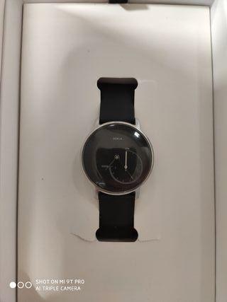 Reloj NOKIA steel smartwatch.