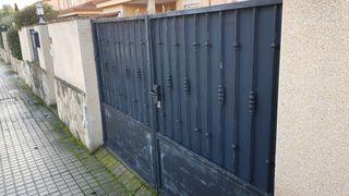Puerta Hierro forjado 2 hojas