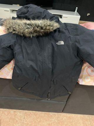 chaqueta de mujer de pluma