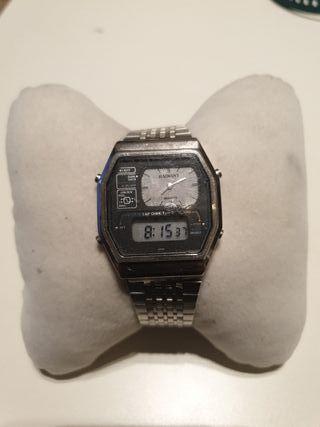 reloj radiant dual time vintage