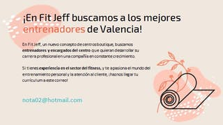 Manager centro FITNESS