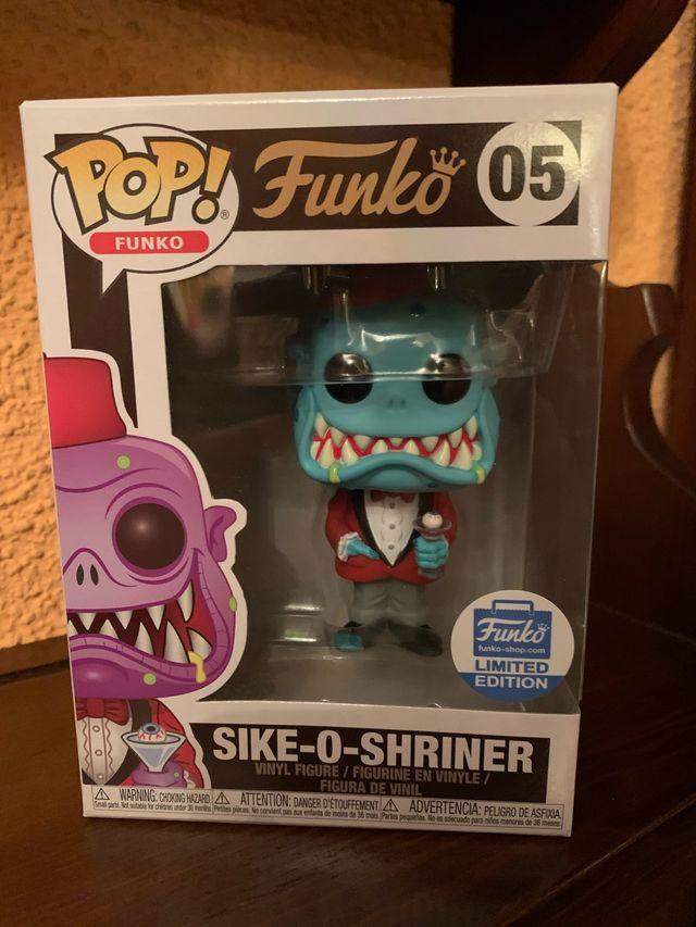 Figura funko pop exclusiva sike-o-shriner 95