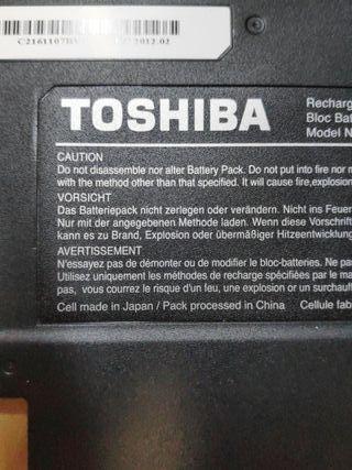 BATERÍA TOSHIBA PORTEGE Z835 Z830 Z930 Z935 ORIG.