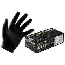 guantes de examen nitrilo lisos