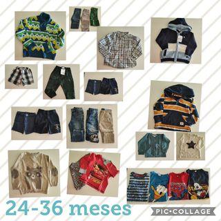 lote ropa niño 18 a 36 meses