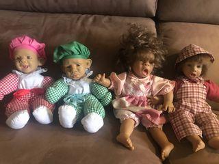 Muñeca gestitos de los 80