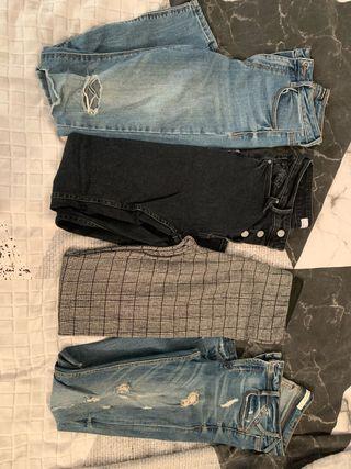 Pack 4 pantalones