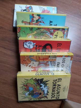coleccion películas tintin