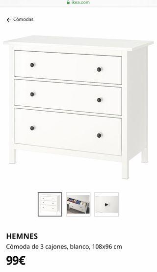 Mueble cajonera Ikea sin estrenar