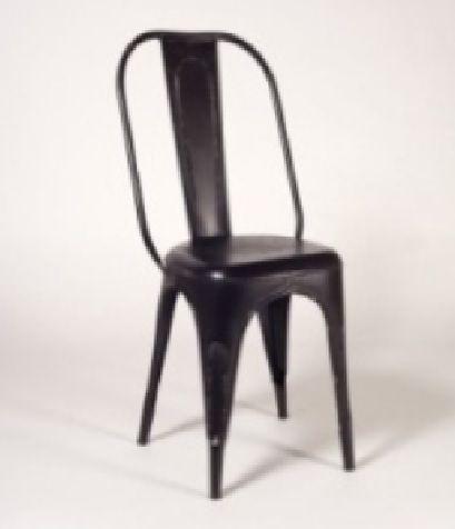 Silla para salón comedor o silla vintage de hierro