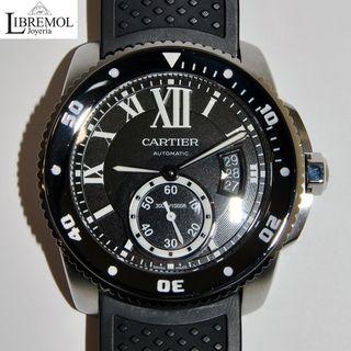 (6858) Cartier Calibre Diver W7100056 Full Set