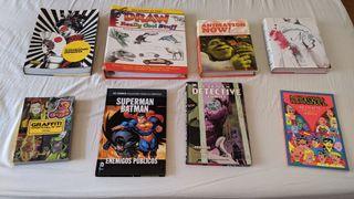 Catalogo libros/comics precios razonables.