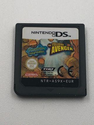 Bon esponja el vendedor amarillo Nintendo ds