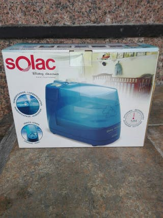 Solac HU1050, 30 W, Azul - Humidificador