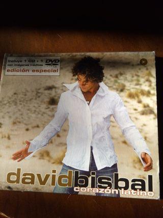 Album David Bisbal edición especial Corazón latino