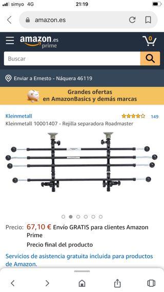 Rejilla separadora Roadmaster Kleinmetall 10001407