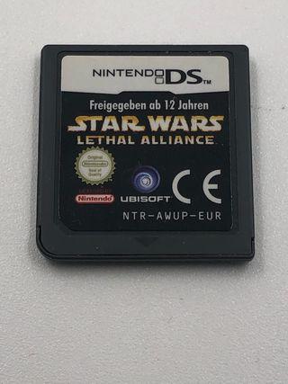 Star wars lethal alliance Nintendo ds