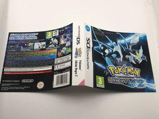 Carátula original pokemon edición negra 2 ds