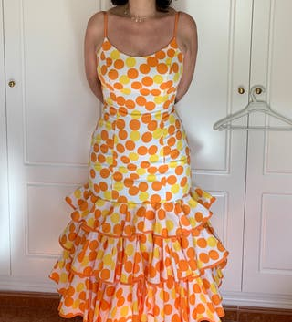 Vestido flamenca mujer
