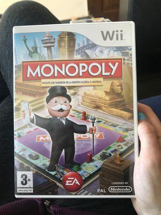 Juego nintendo wii monopoly