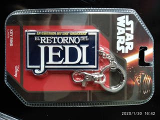 """Llavero Star Wars """"el retorno de Jedi"""""""