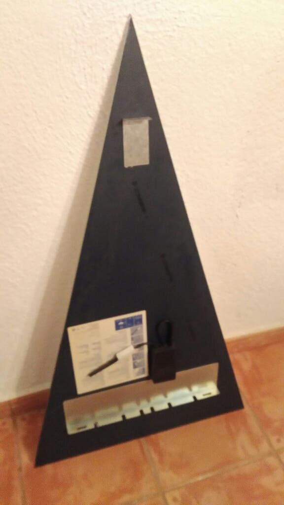 Espejo triangular .