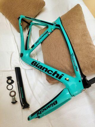 Cuadro Bianchi Oltre XR4 DISC 53