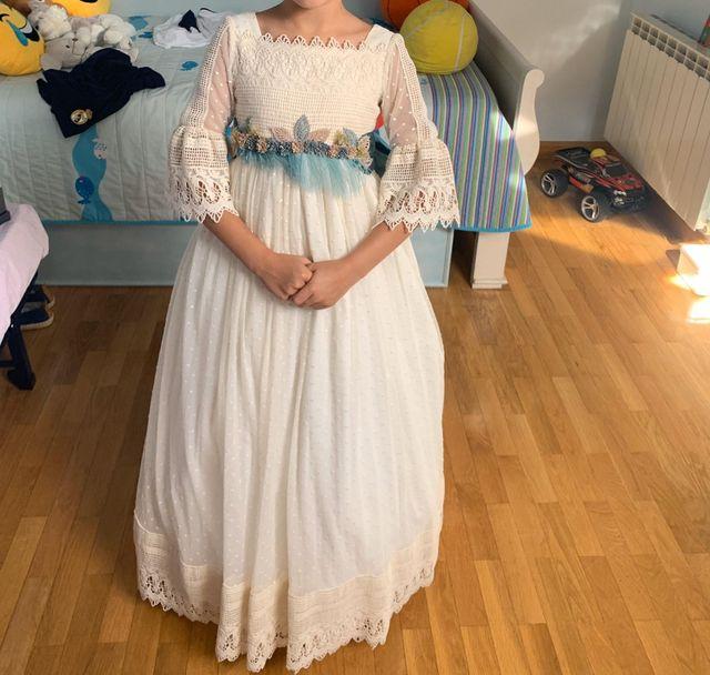 """vestido comunión """"Mon Air"""" 2019"""