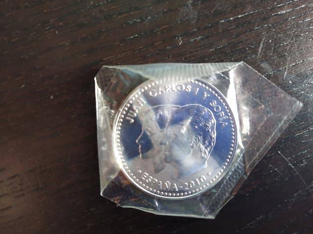 Moneda de Plata de 12 euros 2010 s/c en su blister