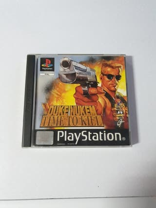 Duke Nukem Time to Kill Ps1