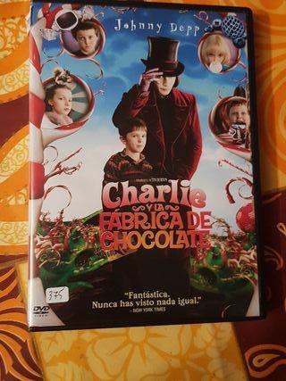 Peliculas dvd charlie y la fábrica de chocolate