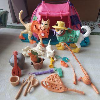 Playmobil animales de campamento