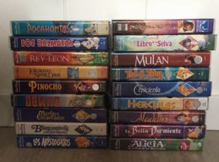 Colección Vhs películas Disney