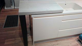 mesa movil para cocina