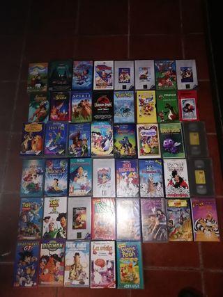 Peliculas infantiles para niños VHS
