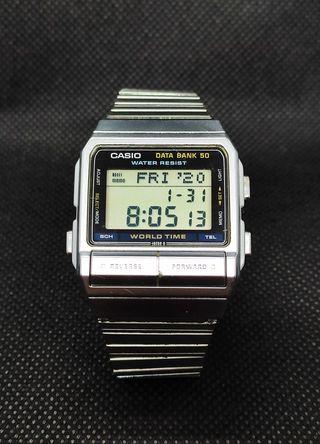 Reloj Digital Vintage CASIO 675 DB-520