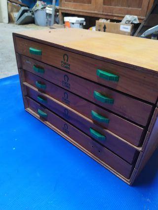 cajas antiguas de hilos