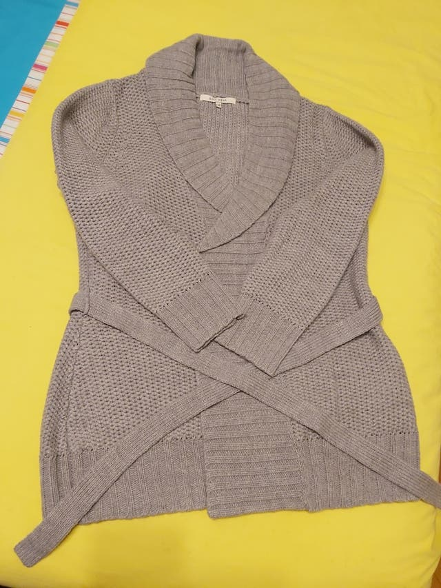 Chaqueta punto mujer gris Easy wear.