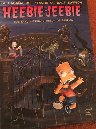 La cabaña del Terror Bart Simpson