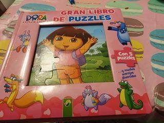 libro puzzle de Dora la Exploradora