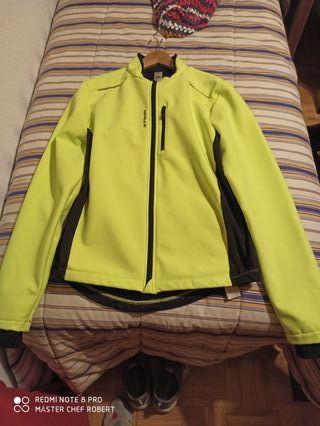 chaqueta térmica impermeable MTB ciclismo nueva