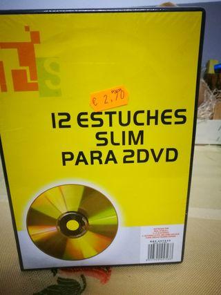 estuches para dvd
