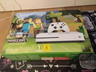 CAJA VACIA Xbox one 500 gb Minecraft