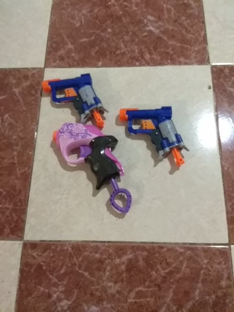 lote pistolas nerf